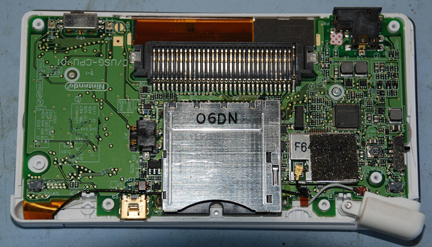 System board in old case